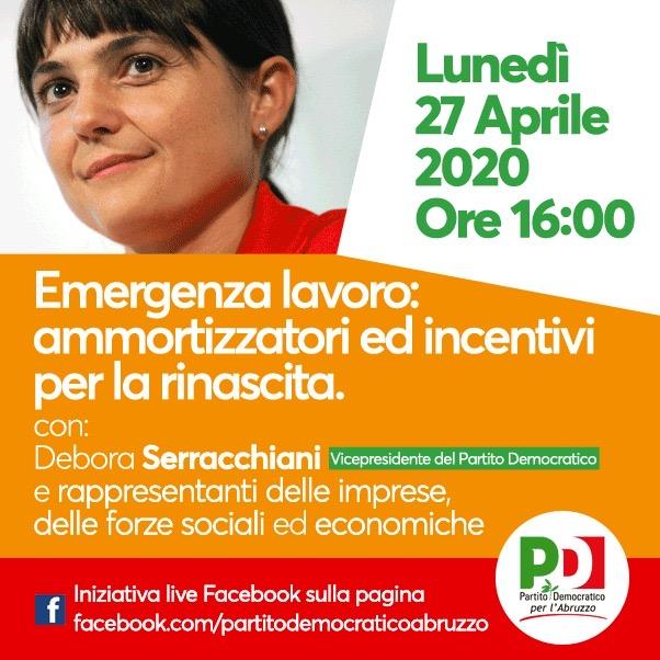Emergenza lavoro, lunedì 27 aprile l'incontro con Debora Serracchiani