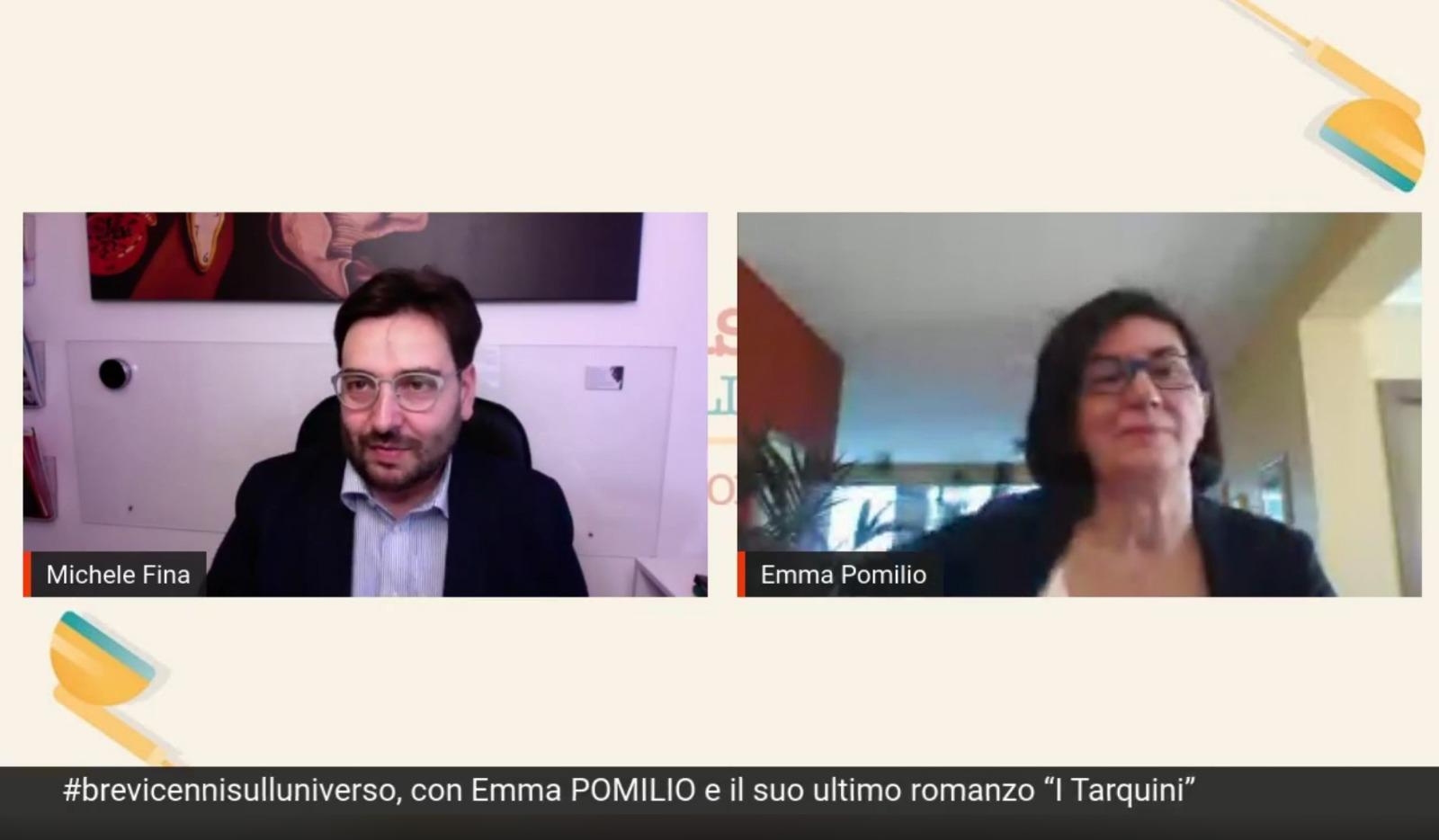 Quando il mondo politico incontra quello culturale: il confronto tra Michele Fina ed Emma Pomilio