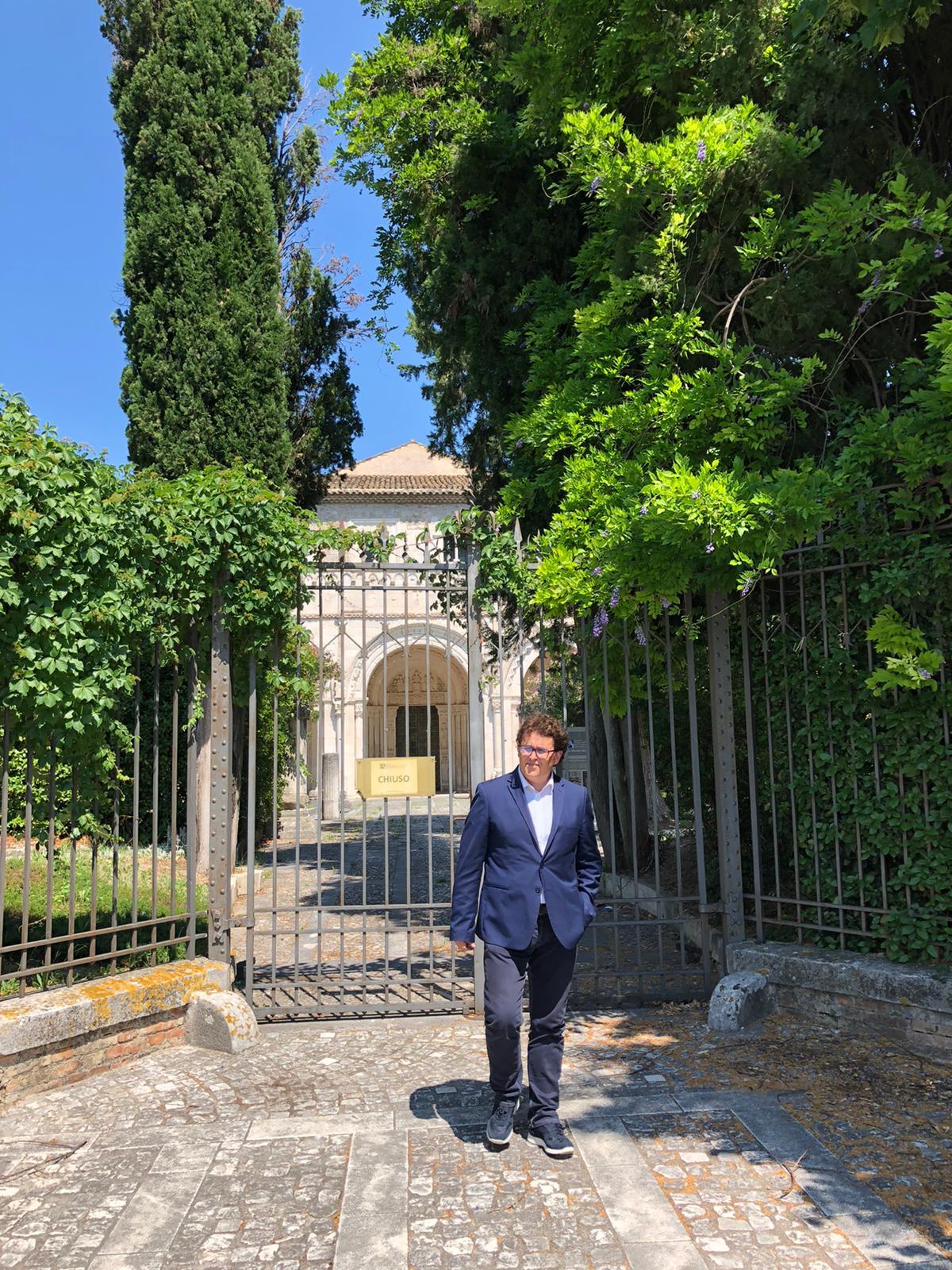"""Blasioli su San Clemente a Casauria: """"Regione ed Enti devono avviare un percorso per la riapertura di questo gioiello storico e architettonico"""""""