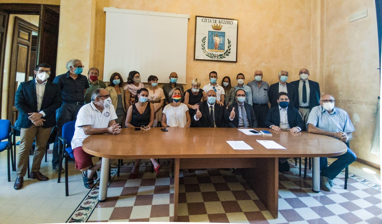 """Presentata la lista del PD per le elezioni comunali di Avezzano: """"Risultato straordinario, squadra di qualità"""""""