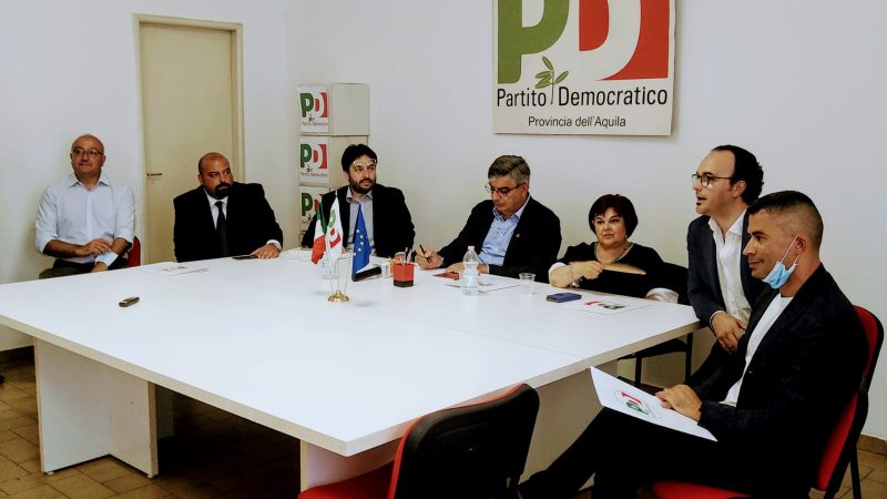 """Ad Avezzano il PD con Mario Babbo: """"Una nuova generazione perché la città incida nelle scelte nazionali"""""""