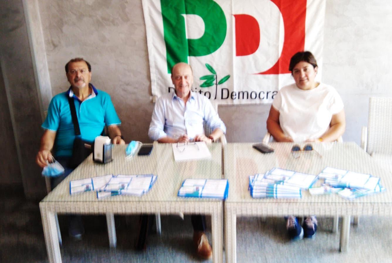 Periferie, la conferenza stampa del PD a Chieti