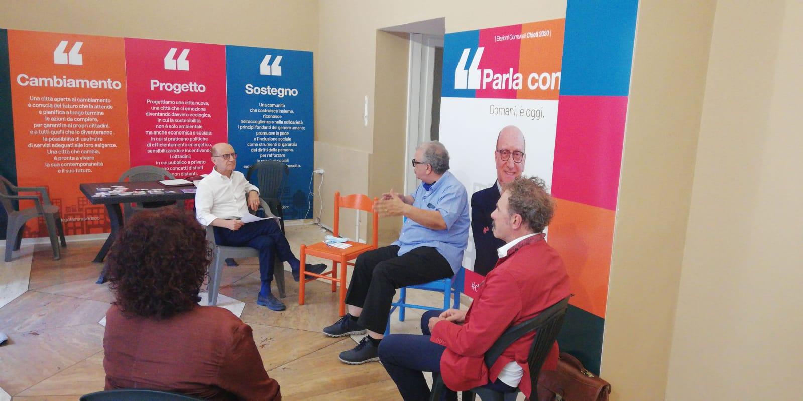 """Dissesti e urbanistica, Ferrara si confronta con gli esperti: """"Noi lavoreremo per rendere Chieti una città sicura"""""""