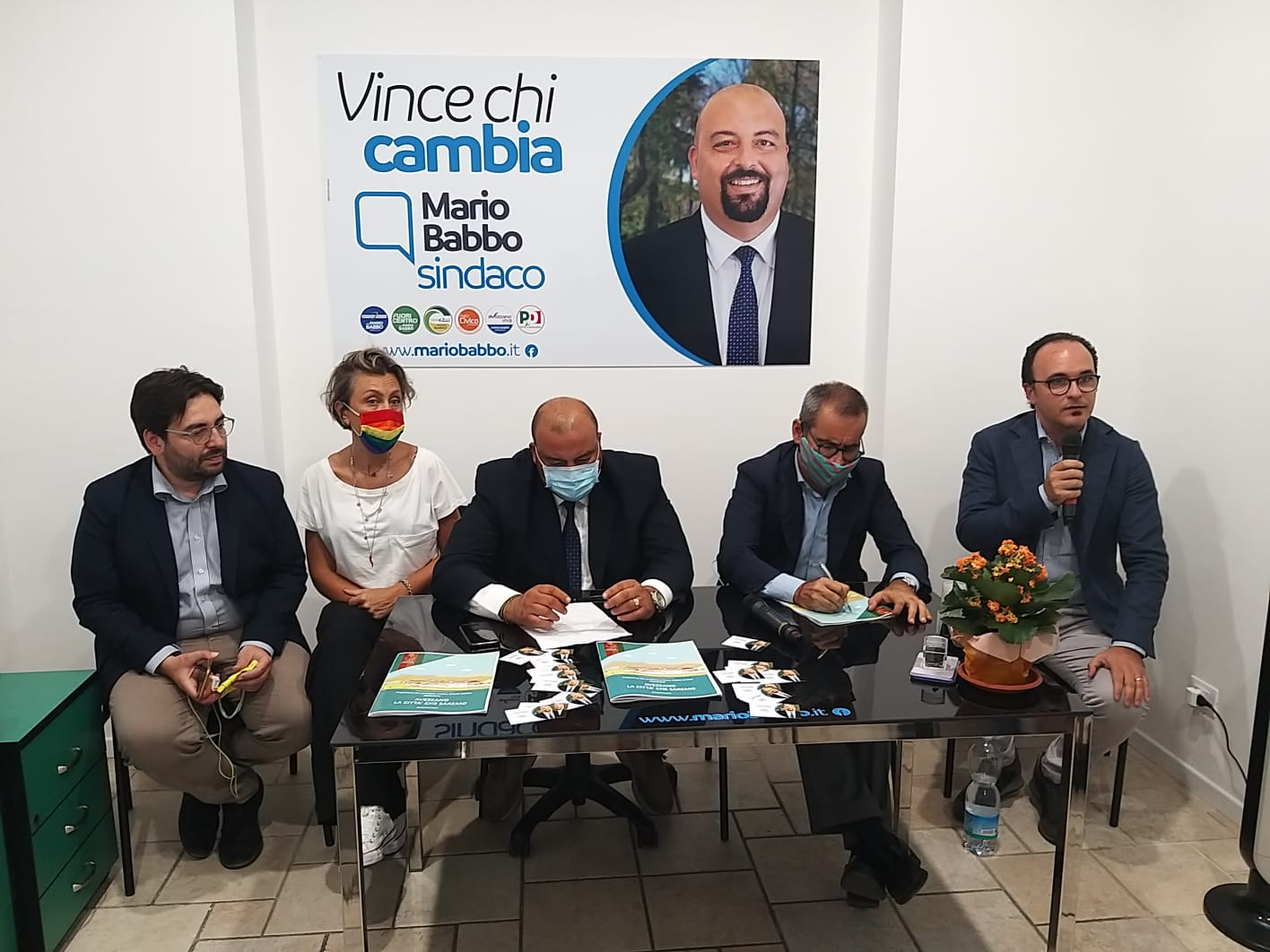 """Il sottosegretario Manzella ad Avezzano a sostegno di Mario Babbo: """"Piena disponibilità alla collaborazione per lo sviluppo"""""""