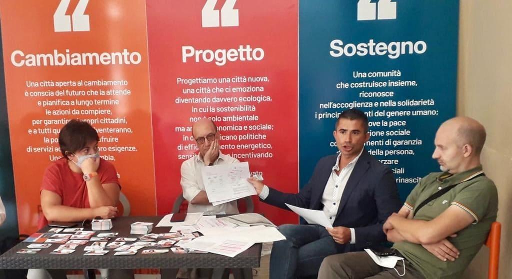 Chieti, Abruzzo: la conferenza stampa del PD