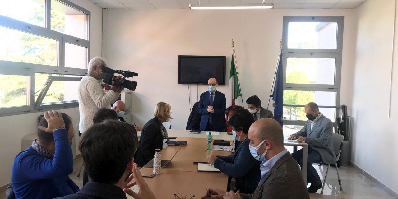 A Chieti Scalo la prima Giunta dell'Amministrazione Ferrara