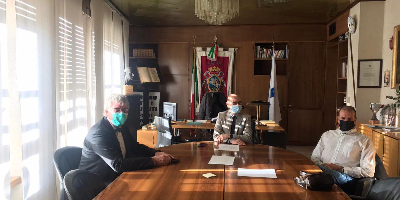 CHIETI,il sindaco Ferrara e l'assessore Cascini hanno incontrato il manager della Asl Thomas Schael