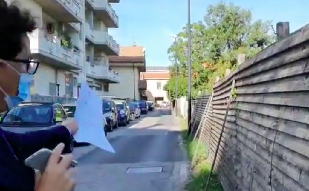 """Pescara, Blasioli su via Chienti: """"Parte la bonifica dopo tante segnalazioni e interventi. La rinascita sarà completa con la realizzazione del primo tratto di strada Pendolo"""""""