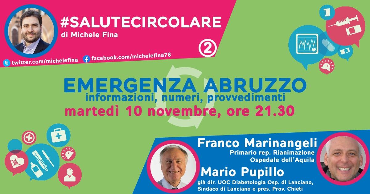 #Salutecircolare, l'incontro del 10 novembre