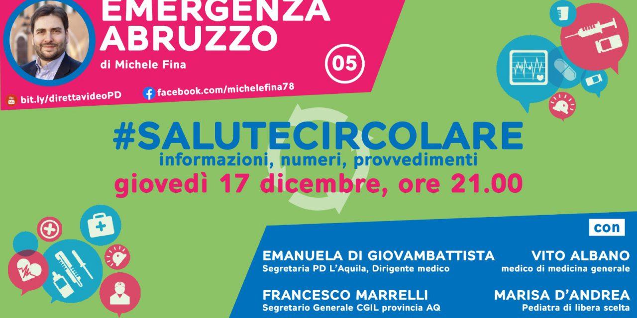 Emergenza Abruzzo, il 17 dicembre il quinto incontro della rubrica di michele fina