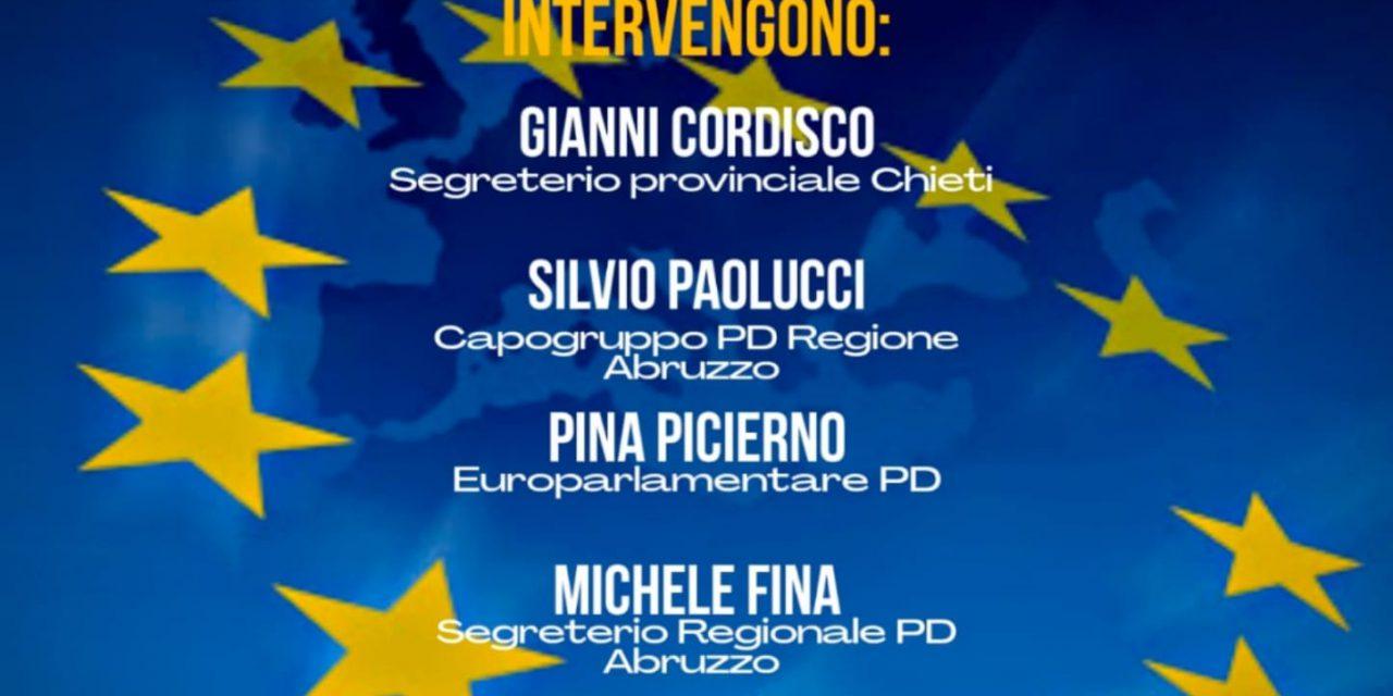 Il Recovery Fund e le Opportunita' per l'Abruzzo: l'11 dicembre l'incontro del Pd della Provincia di Chieti