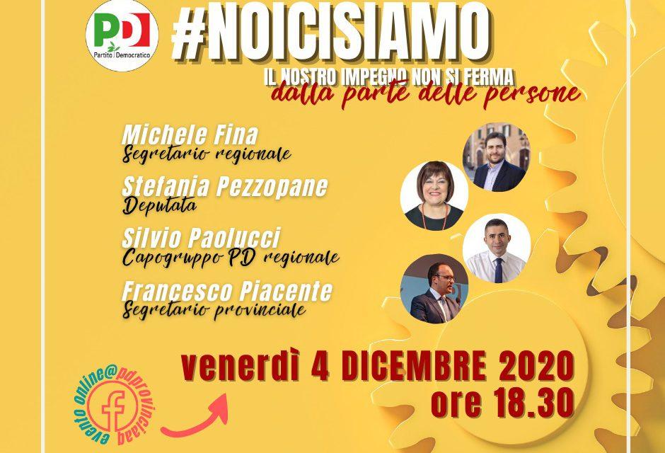 #noicisiamo, il 4 dicembre l'evento del pd
