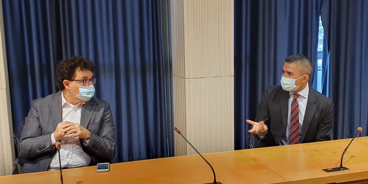 """Paolucci e Blasioli incontrano i rappresentanti degli studenti: """"Vanno ascoltati, porteremo la richiesta di un tavolo permanente con la Regione"""""""