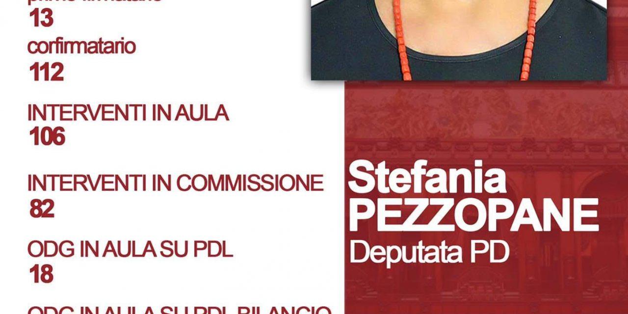 """PEZZOPANE: """"2020, Annus horribilis, ma tanto lavoro e risultati importanti in Parlamento"""". Bilancio attività Camera dei Deputati – Conferenza stampa"""