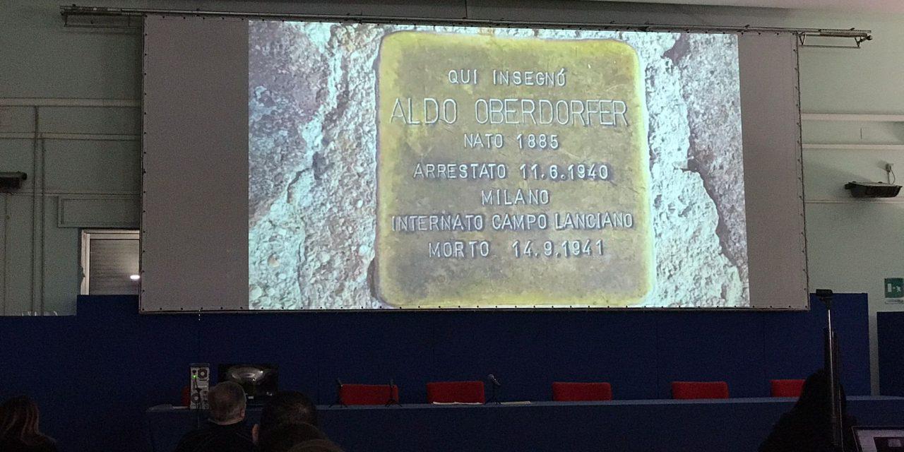 """Giornata della memoria. L'impegno del sindaco di chieti: """"Insieme alle scuole e alle associazioni cittadine aggiungeremo altre pietre d'inciampo a quella esistente in città"""""""