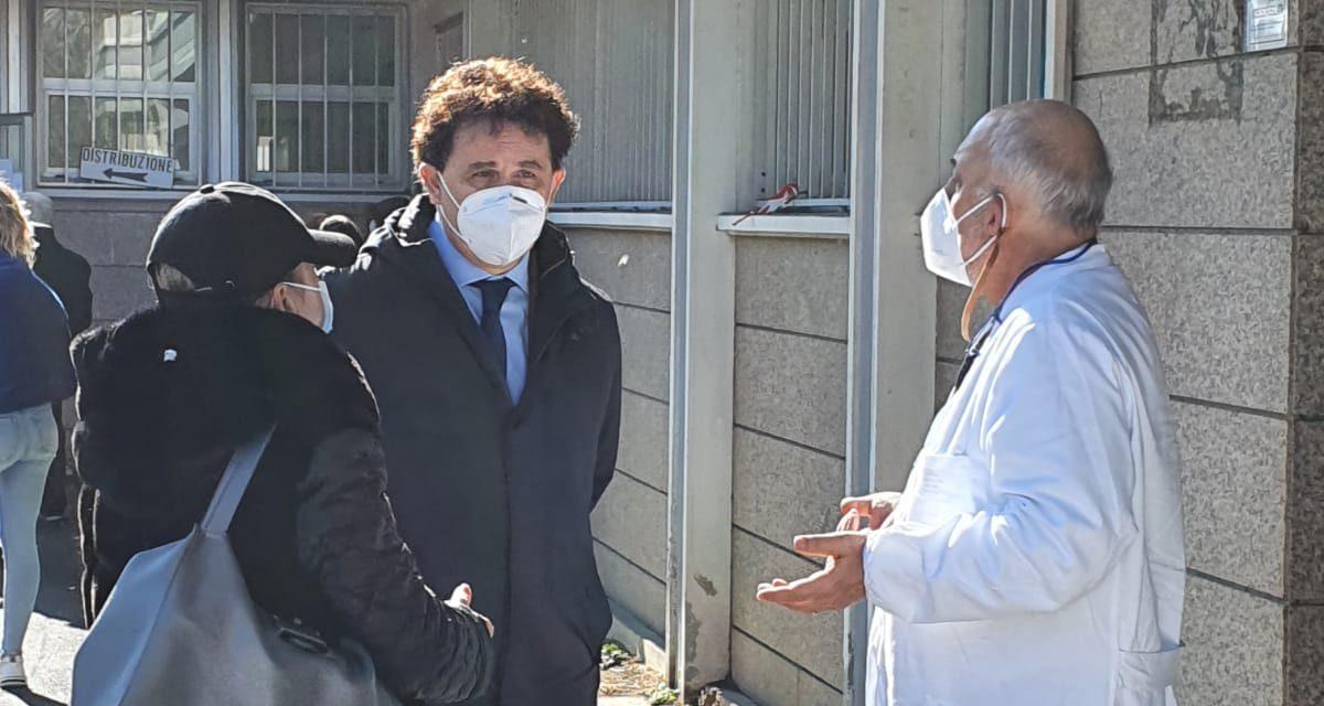 Visita ispettiva del consigliere Blasioli in Diabetologia dell'Ospedale di Pescara