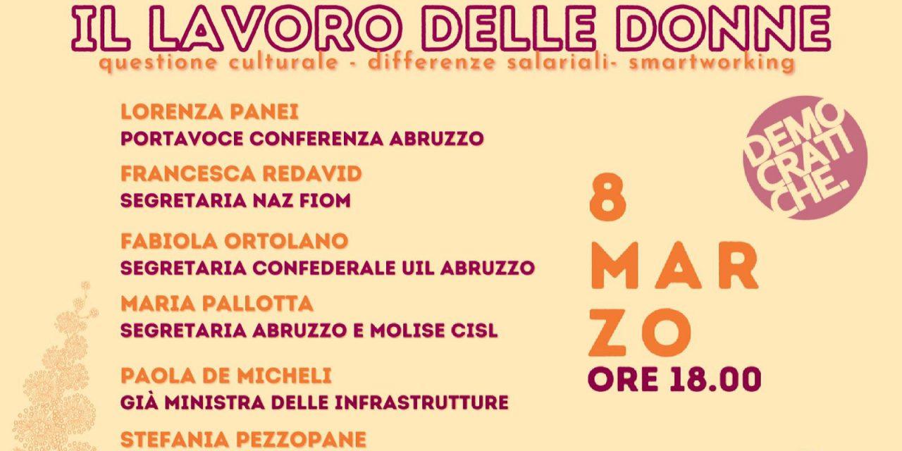 Il lavoro delle donne: l'8 marzo l'evento delle democratiche abruzzesi