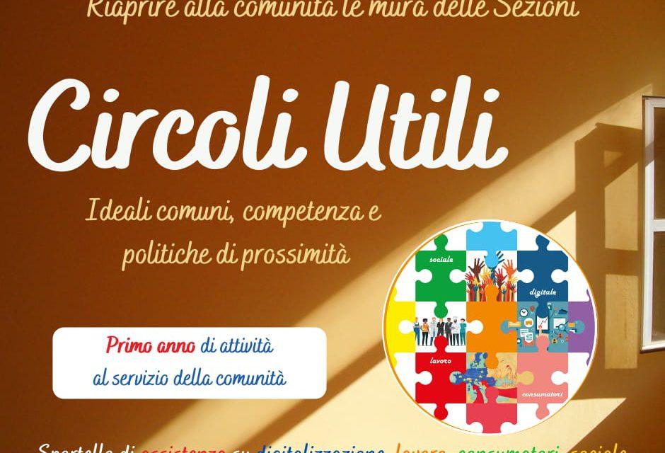 """Il bilancio di """"Circoli Utili"""" – circolo PD """"Di Vittorio"""""""