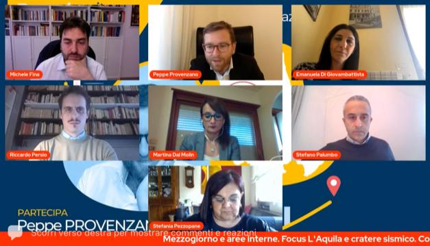 Abruzzo, le opportunità dal Recovery Plan. Il vicesegretario Provenzano all'incontro del PD regionale