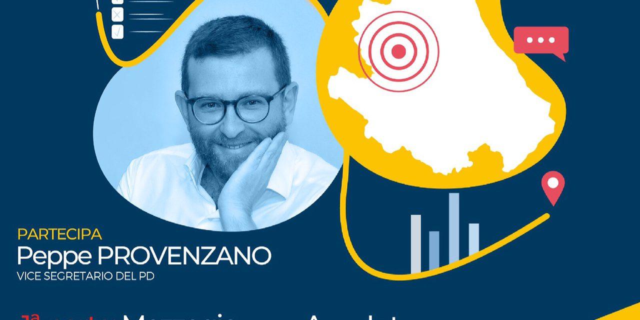 Venerdì 16 aprile l'evento del Pd Abruzzo con Peppe Provenzano