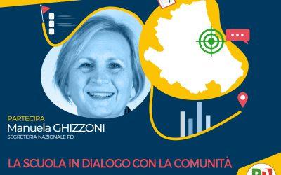 Lunedì 24 maggio prossima generazione Abruzzo con Manuela Ghizzoni