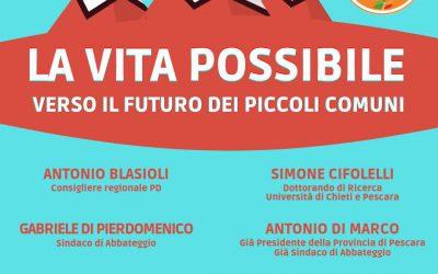 Verso il futuro dei piccoli comuni: il 9 giugno ad Abbateggio l'incontro dei Giovani Democratici