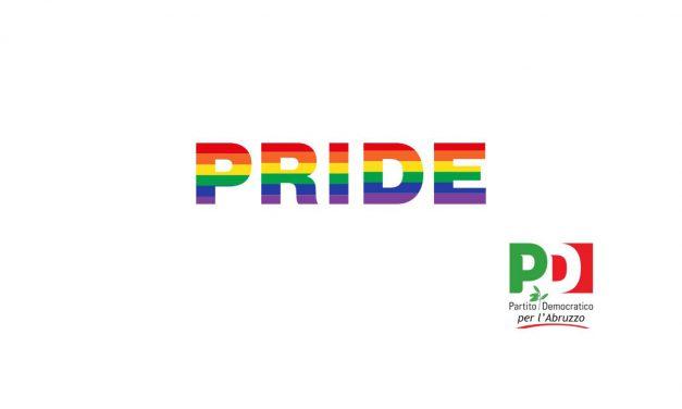 """Domani inizia la Pride Week, il PD Abruzzo: """"Nostro sostegno convinto per i diritti della comunità LGBT+"""""""
