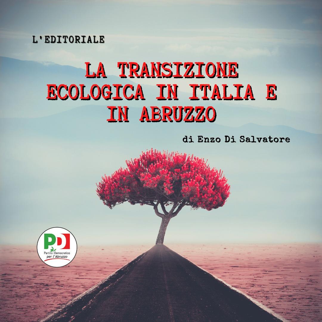 La transizione ecologica in Italia e in Abruzzo