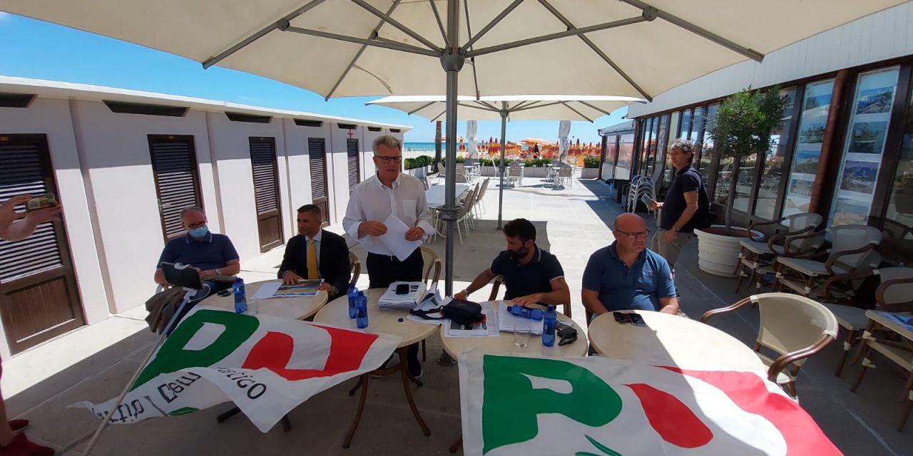 """Erosione della costa, operazione verità del gruppo regionale PD: """"In 3 anni solo parole e promesse"""""""