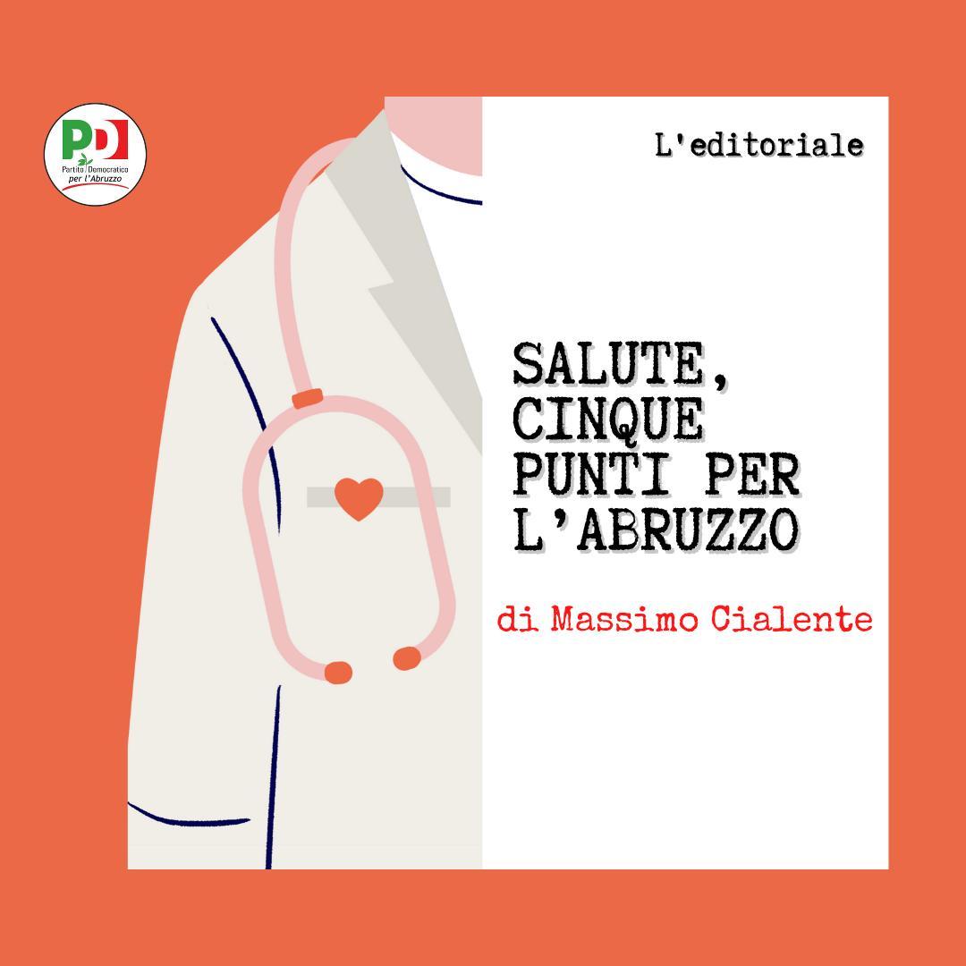 Salute, cinque punti per l'Abruzzo