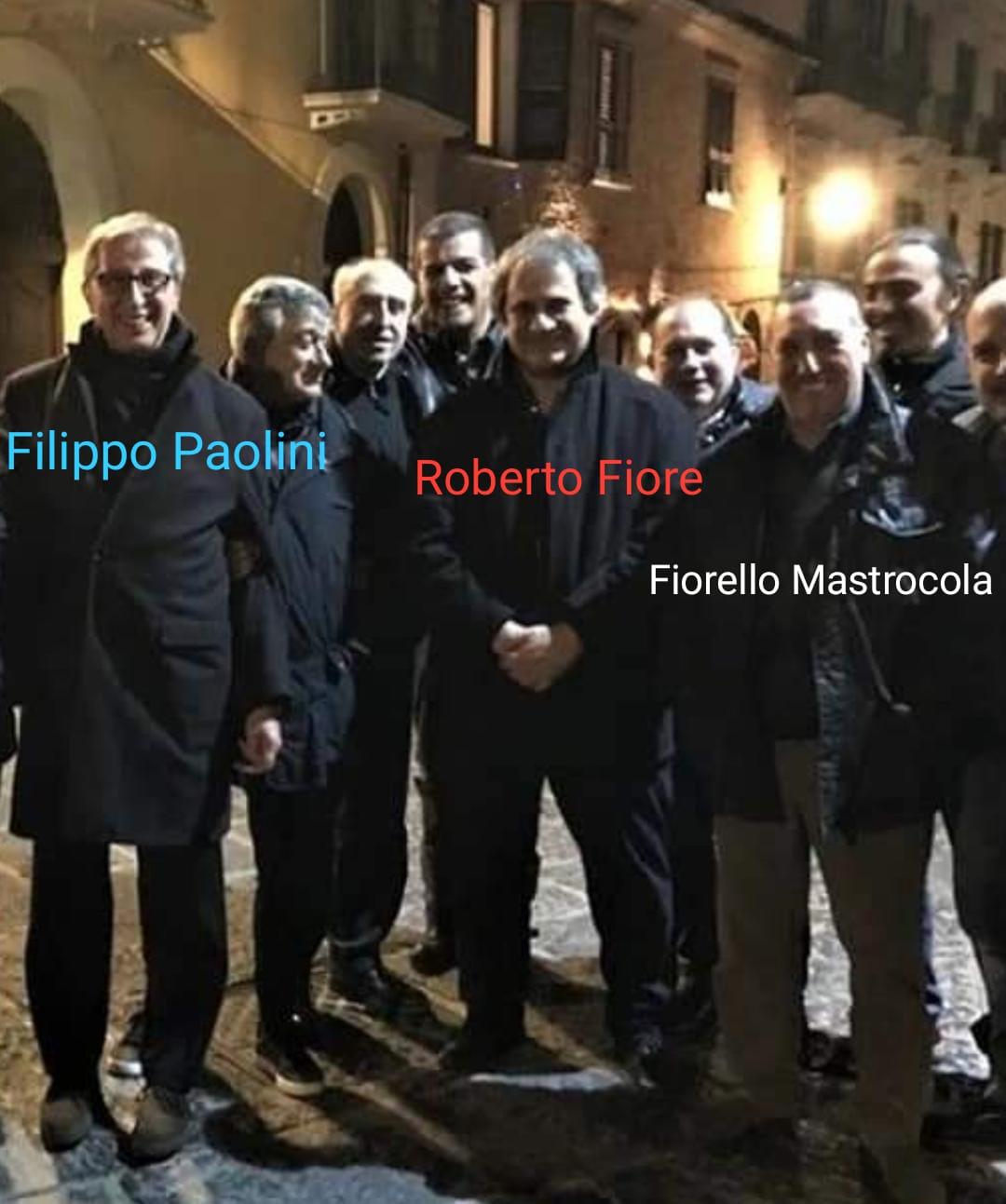 """Fina: """"Forza Nuova incita alla violenza contro Marongiu a Lanciano, Paolini chiarisca i suoi rapporti con i movimenti neofascisti"""""""