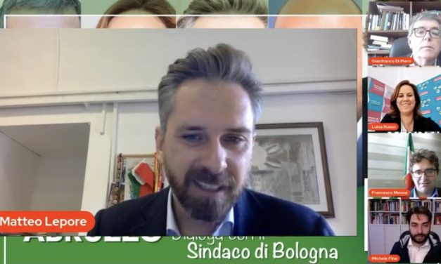 """Il sindaco di Bologna Lepore incontra i candidati del centrosinistra in Abruzzo: """"La nostra forza è la credibilità"""""""