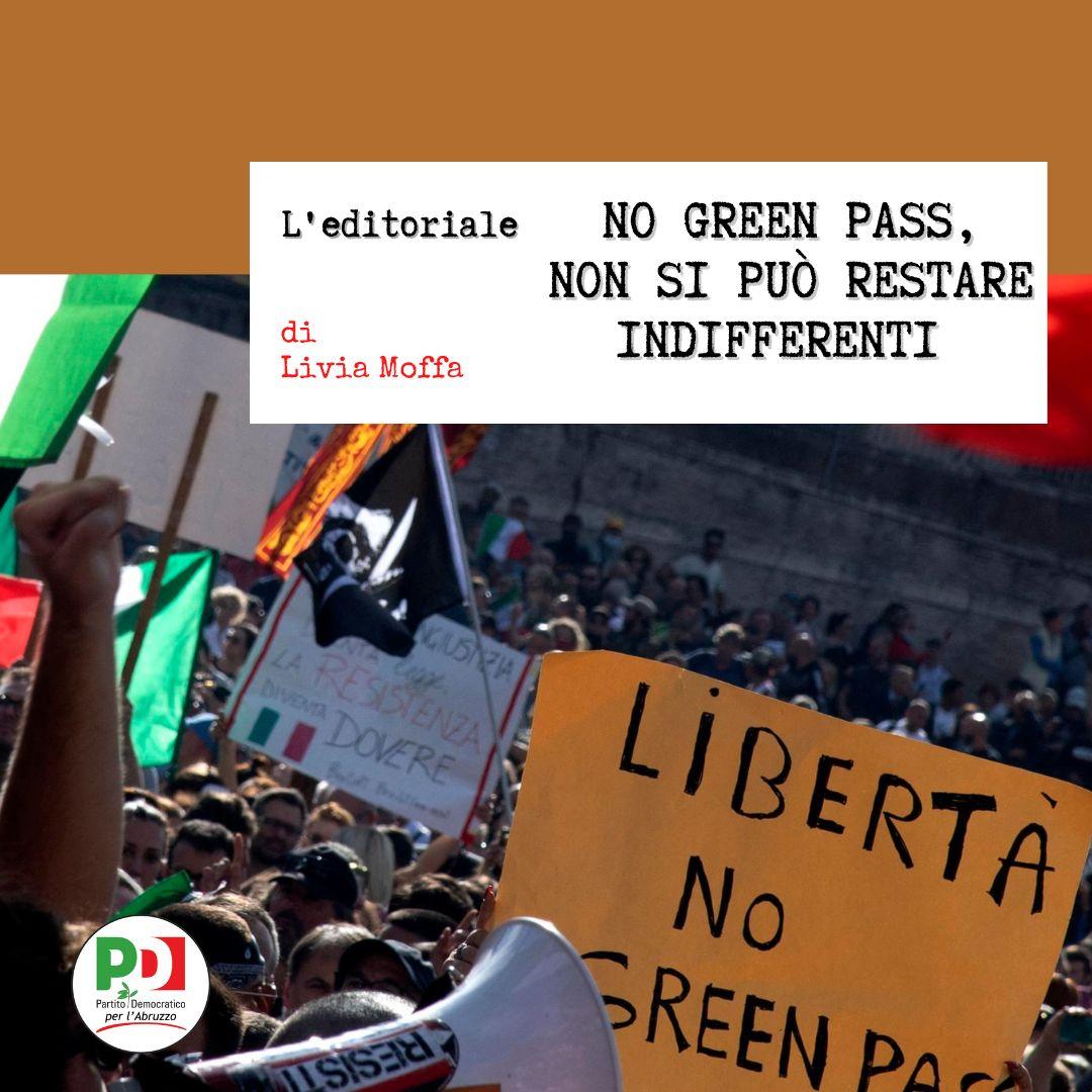 No Green Pass, non si può restare indifferenti
